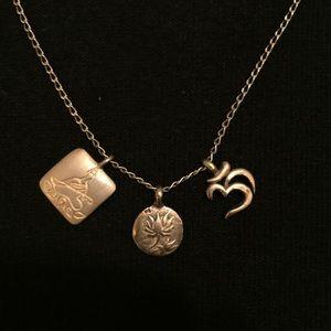 Satya gold beautiful spiritual necklace